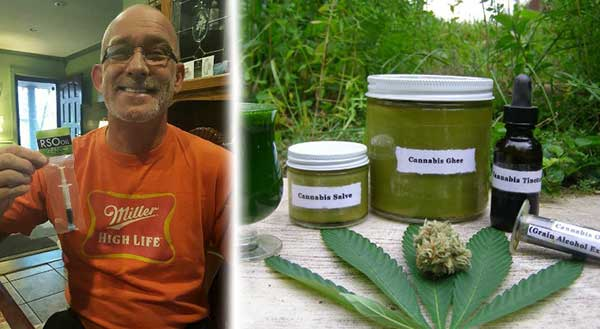 Man Cures Lung Cancer With Cannabis Oil